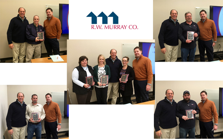 R.W. Murray Co. Announces 2015 Employee Customer Service Awards