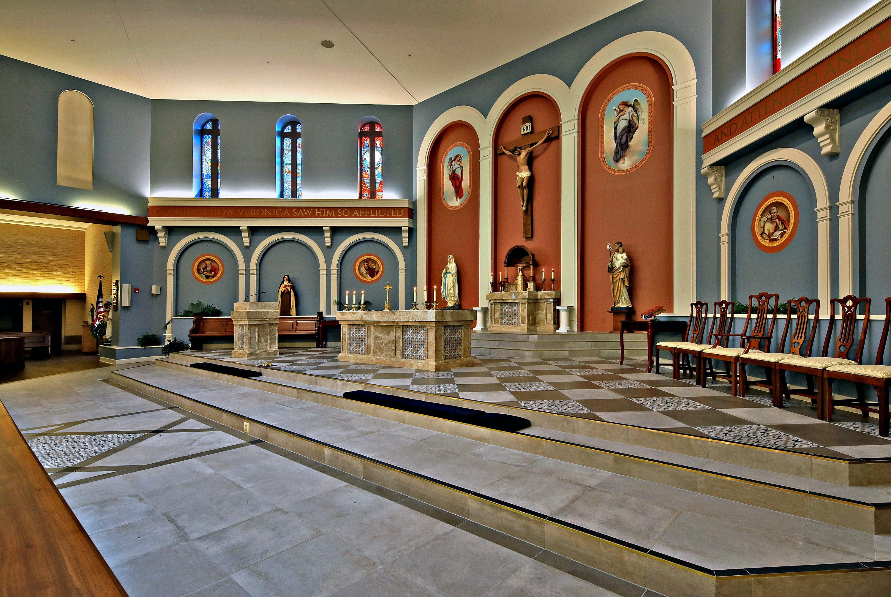 St. Veronica Catholic Church Sanctuary Renovation