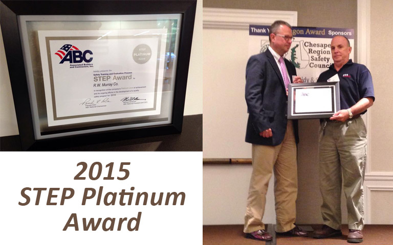 R.W. Murray Co. Receives Platinum Safety Award