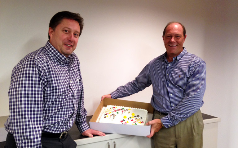 Steve Daves and Chuck Loving Celebrate Five Years of Ownership