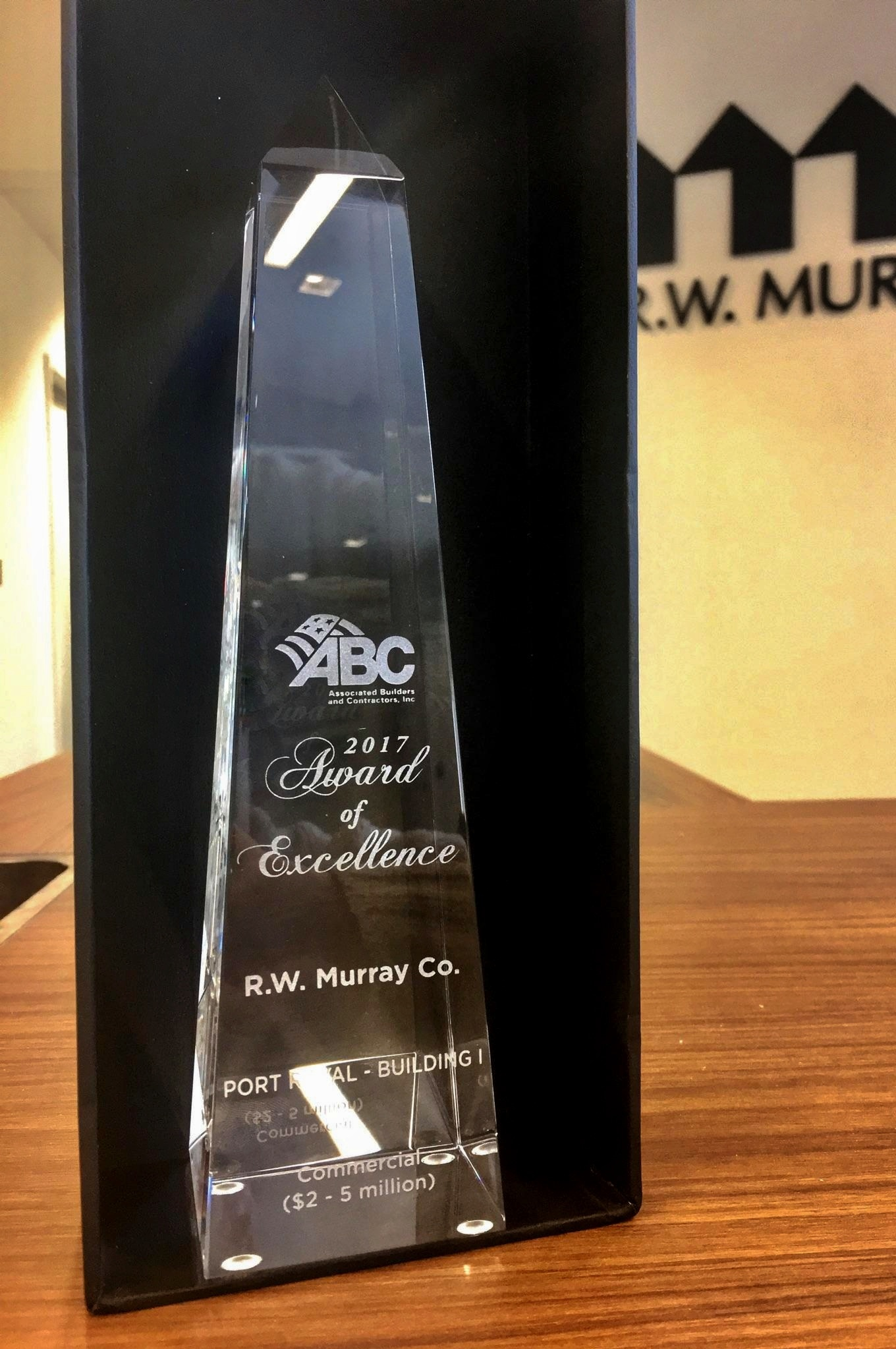 R.W. Murray Co. Wins Prestigious Building Award